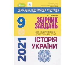 ДПА 2021 9 клас історія України збірник завдань авт. Власов В. вид. Генеза