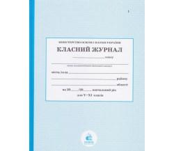 Класний журнал 5-11 клас (старша школа) изд. Освіта (Київ)