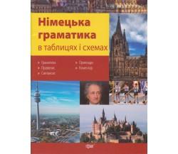 Німецька граматика 5-11 клас в таблицях і схемах (підготовка до ЗНО та ДПА) авт. Бережна вид. Торсінг