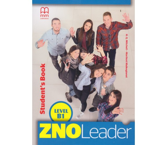 ZNO Leader B1 for Ukraine Student's Book авт. H. Q. Mitchel - Marileni Malkogianni вид. MM publications